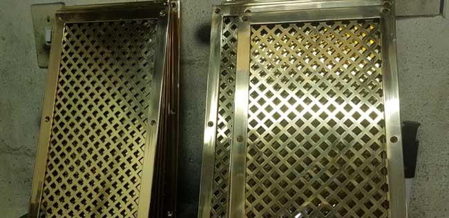 BRM Brass Restoration & Manufacture Blue-Train-Vents