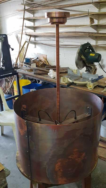 BRM Brass Restoration & Manufacture Chandelier