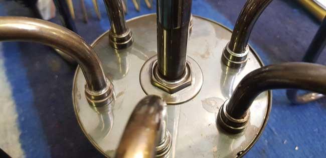 BRM Brass Restoration & Manufacture Chandelier-Manufacture