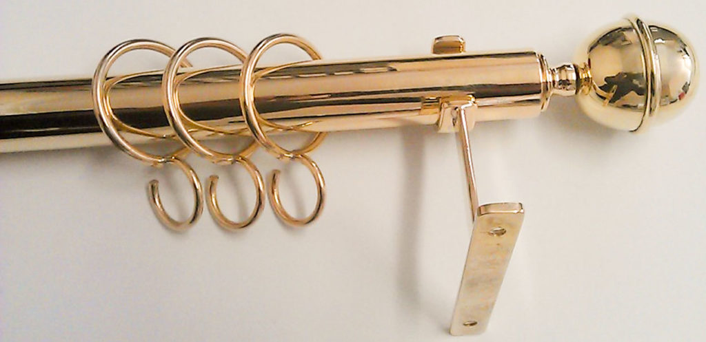 BRM Brass Restoration & Manufacture Curtain-Rail