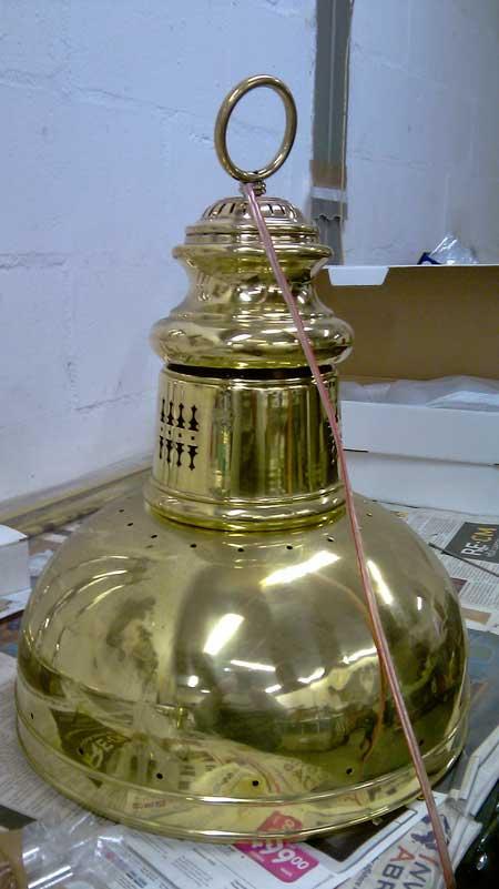 BRM Brass Restoration & Manufacture Restoration-of-Lamp